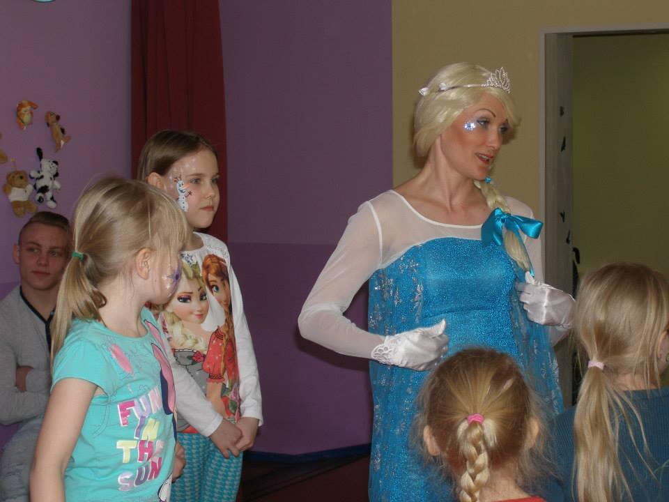 Frozen Elsa jäine pidu!